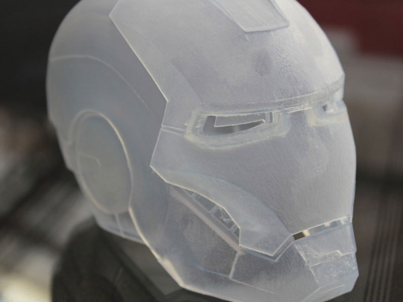 Polycarbonate robot's head