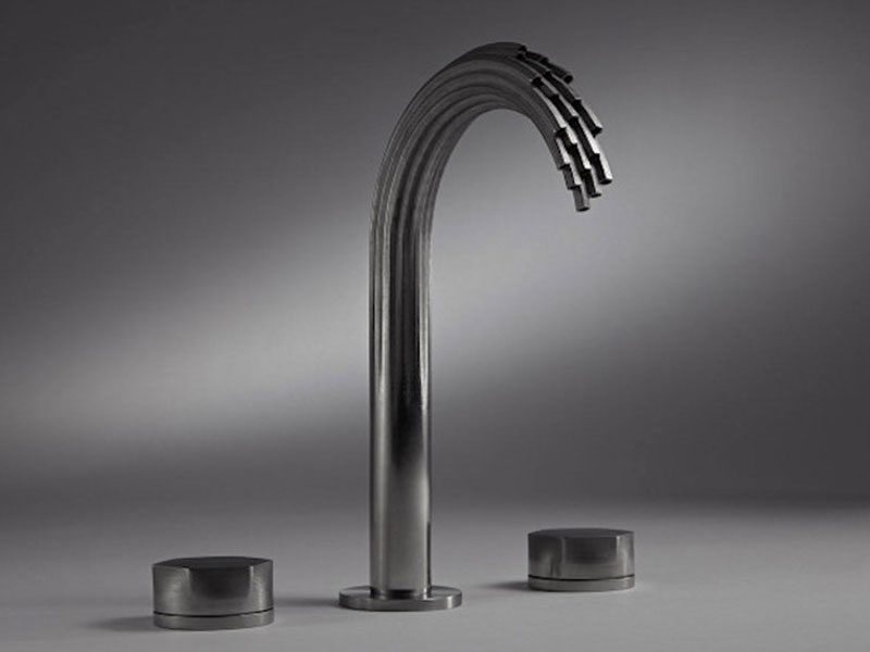 Water tap with a peculiar design made of Maraging Steel
