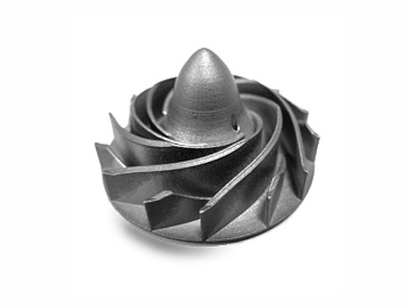 Steel mechanical part printed out by using Direct Metal Laser Printing Technology